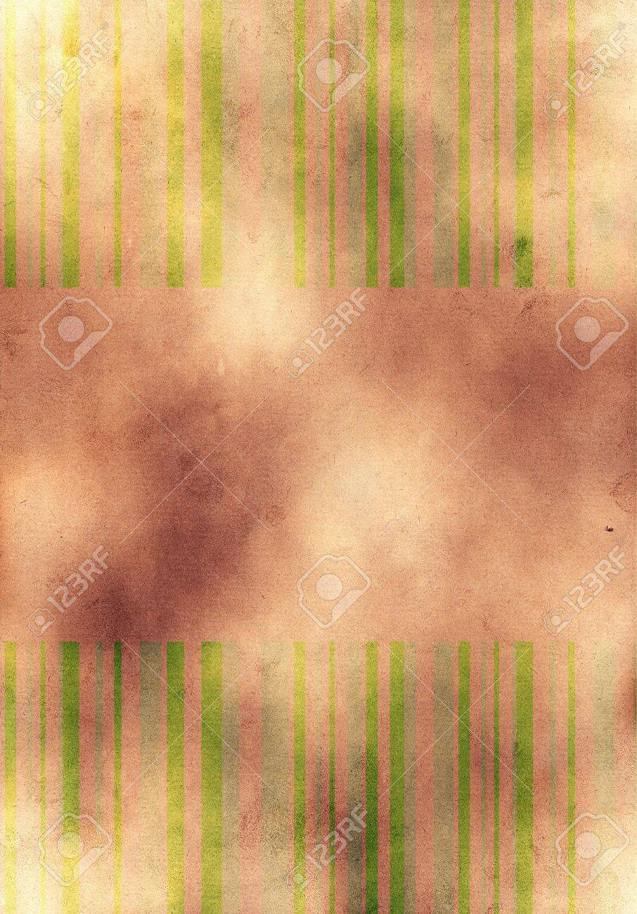 vintage paper background with lines , place for text Stock Photo - 5183997