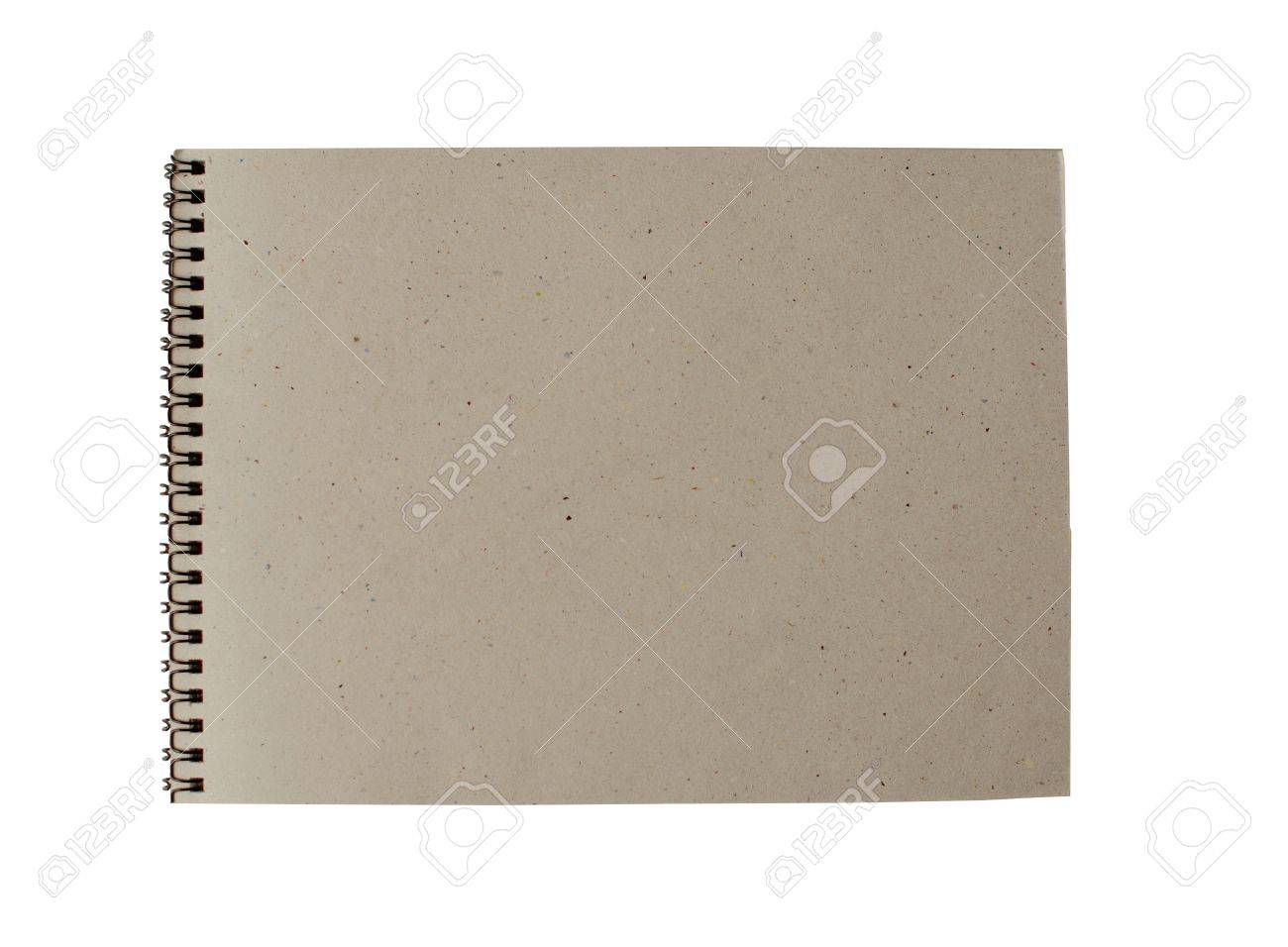 recycled paper notebook page with rings Stock Photo - 15047200