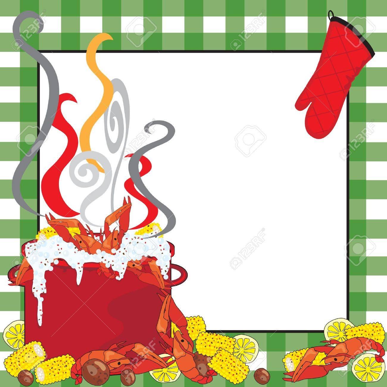 Crawfish Boil Invitation Royalty Free Cliparts Vectors And Stock