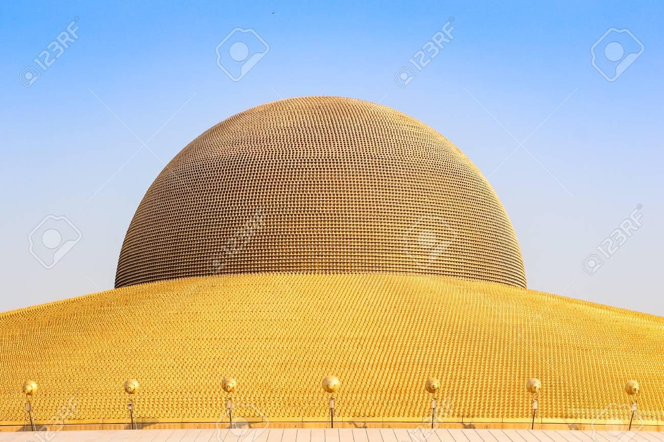 Pathum Thani February 11 Million Golden Buddha Figurine Of