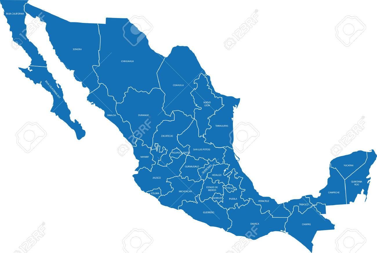 Mapa De Mexico Imágenes De Archivo Vectores Mapa De Mexico Fotos - Mapa de mexico