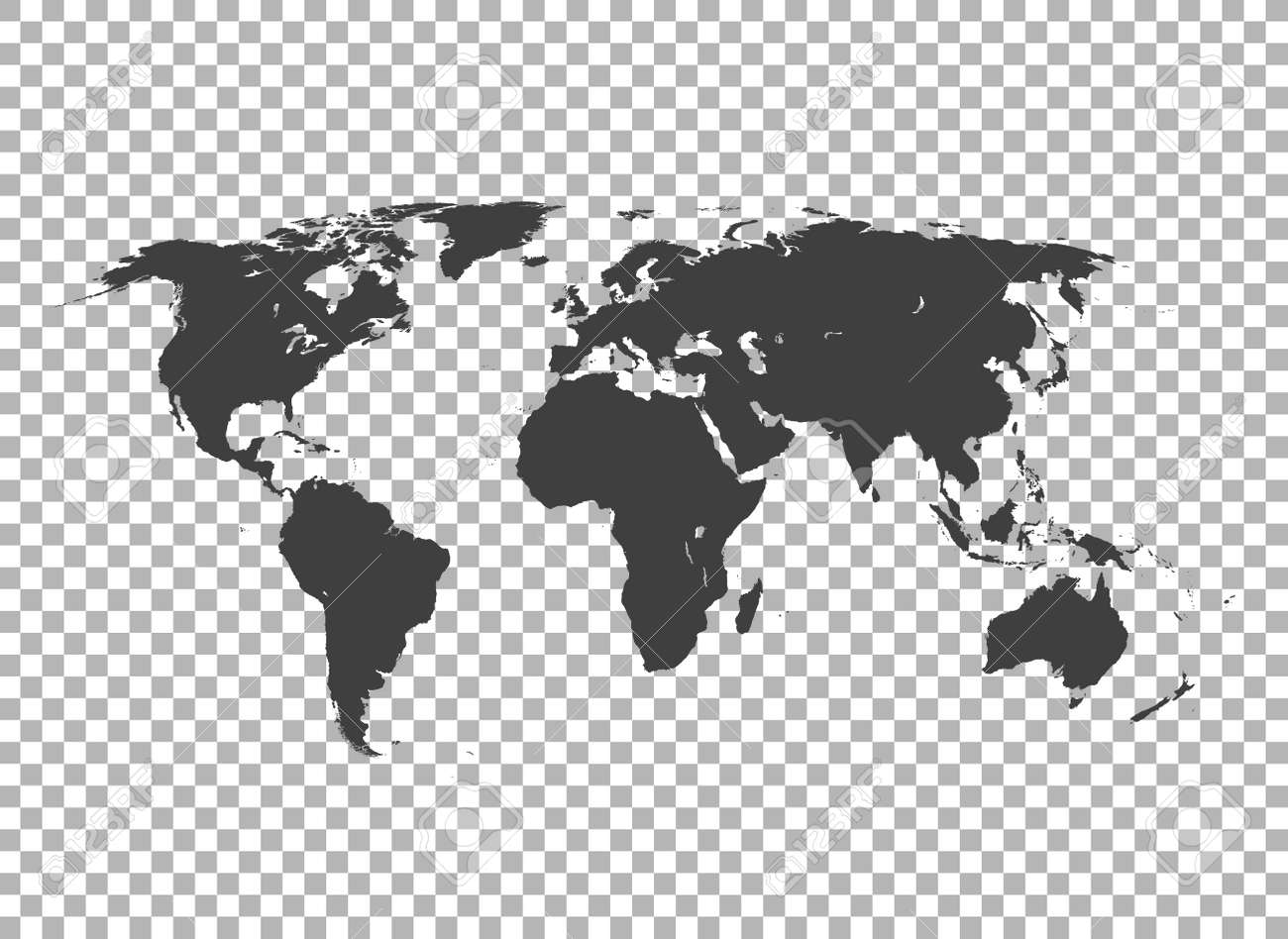 map of world - 159287179