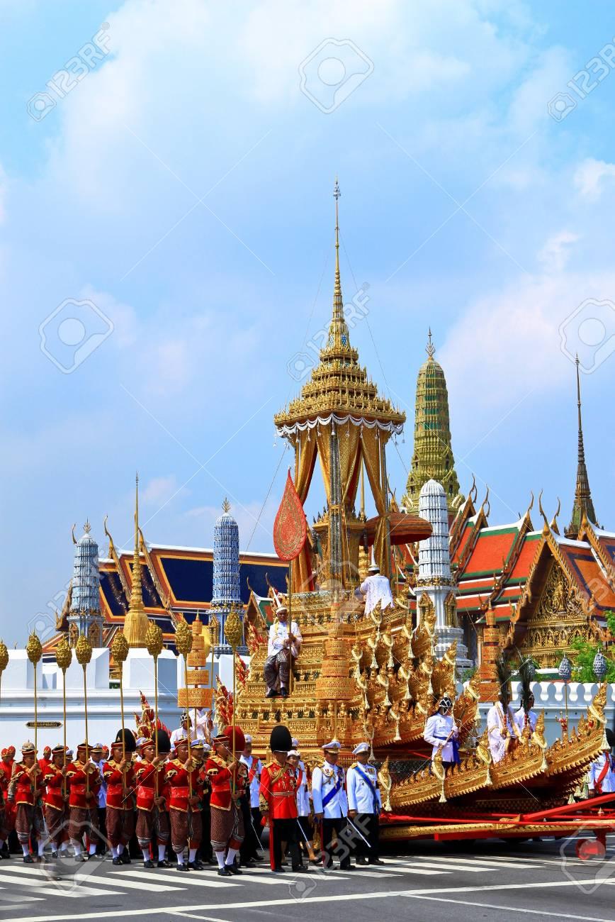 BANGKOK, THAILAND - APRIL 9: The Royal Cremation Ceremony of Prince Bejaratana Rajasuda Sirisobhabannavadi on April 9, 2012 Stock Photo - 13140288