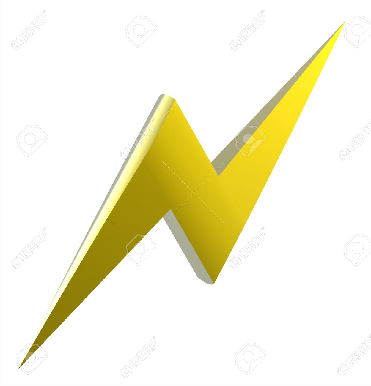 Power or high voltage hazard 3D sign Stock Photo - 6127221