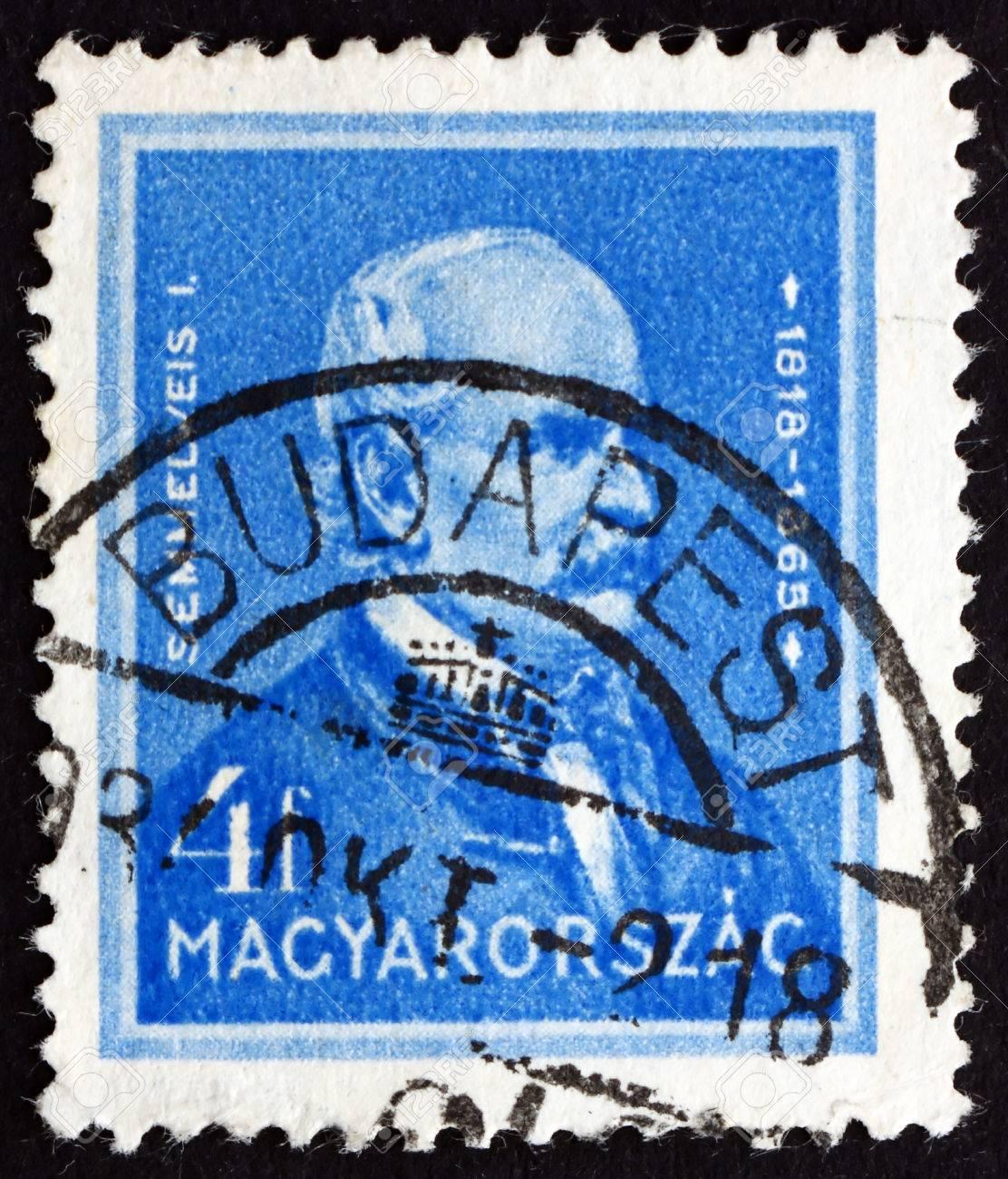 ハンガリー - 1932 年頃: 切手が...