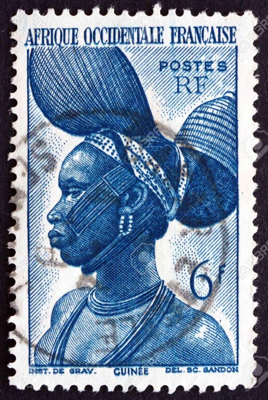 フランス 1947 年頃 - 西アフリ...