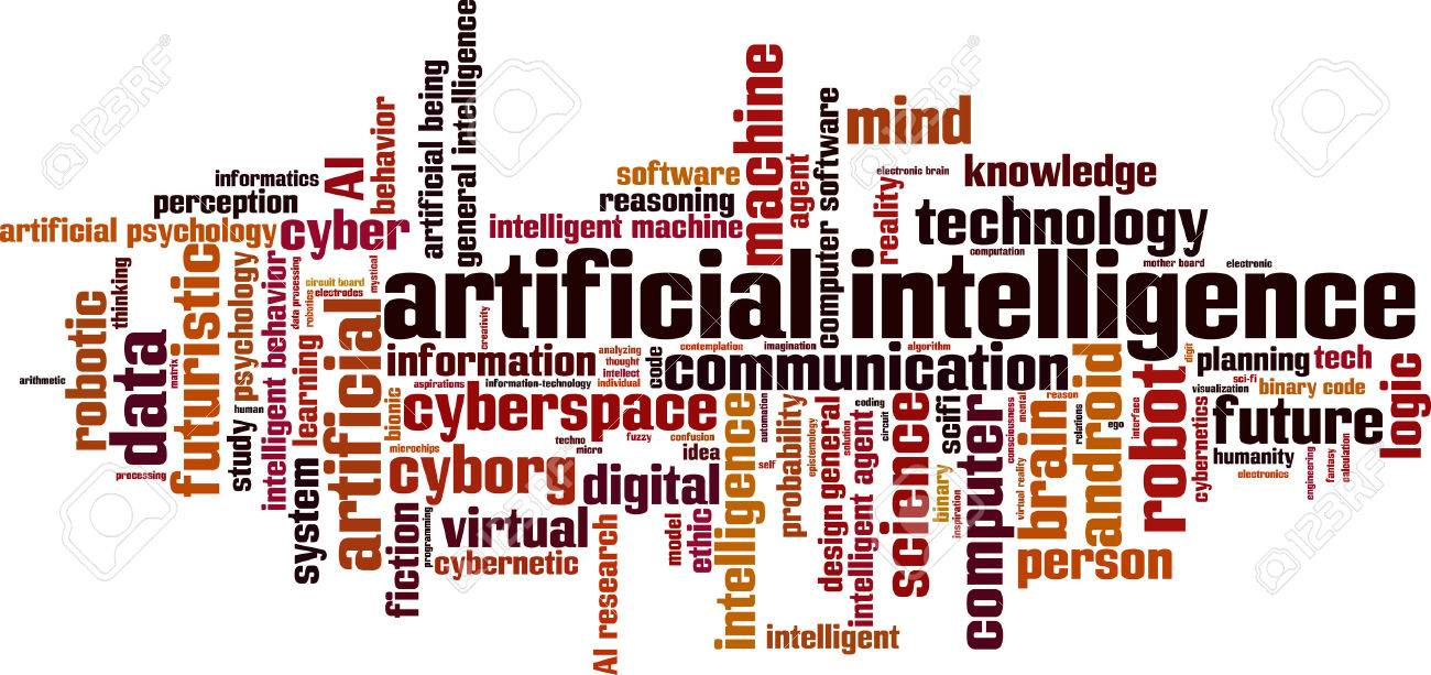Artificial intelligence word cloud concept. Vector illustration - 61586889