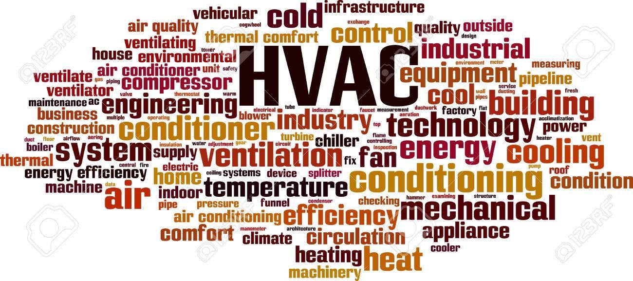 HVAC word cloud concept. Vector illustration - 49745798