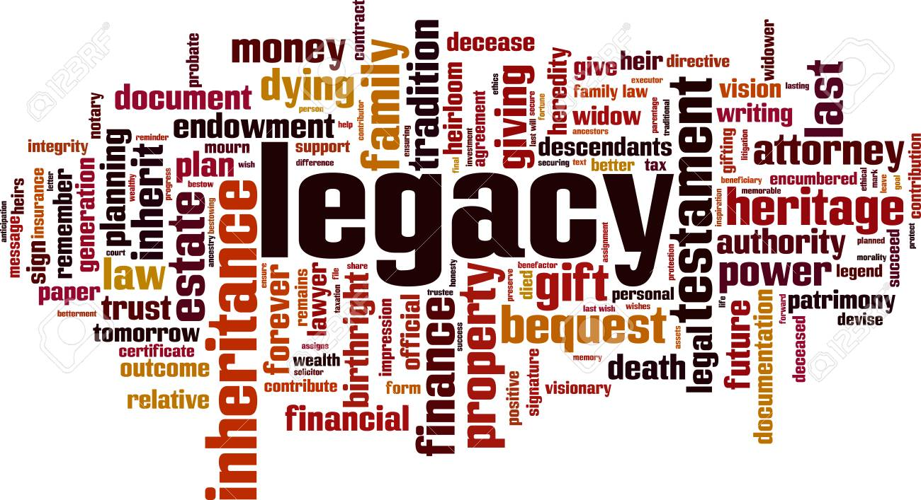 Legacy word cloud concept - 87679275
