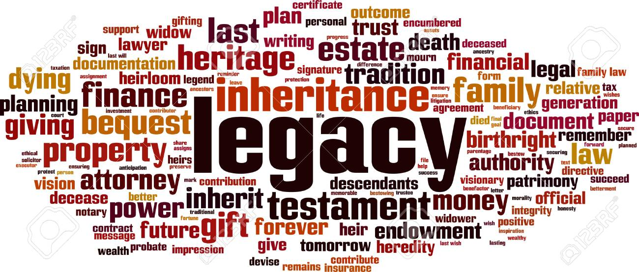 Legacy word cloud concept - 87679277