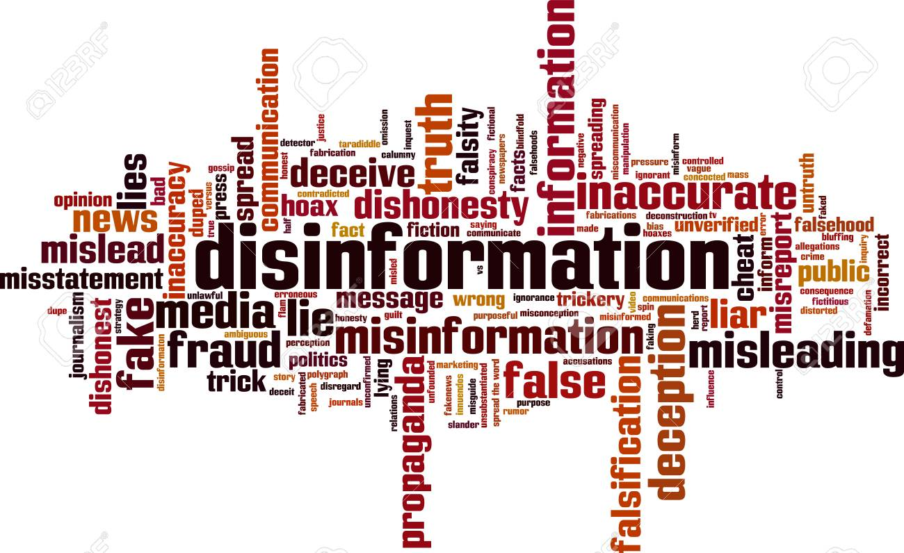 Disinformation word cloud concept. Vector illustration - 94243495