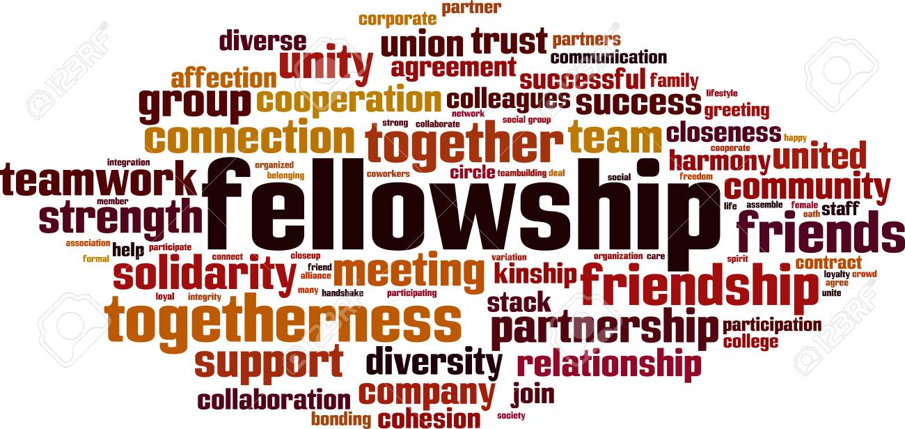 Image result for fellowship word cloud