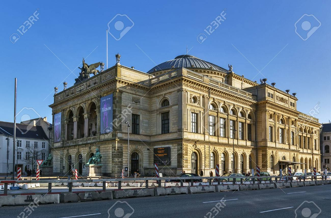 The Royal Danish Theatre Located On Kongens Nytorv In Copenhagen - Where is copenhagen located