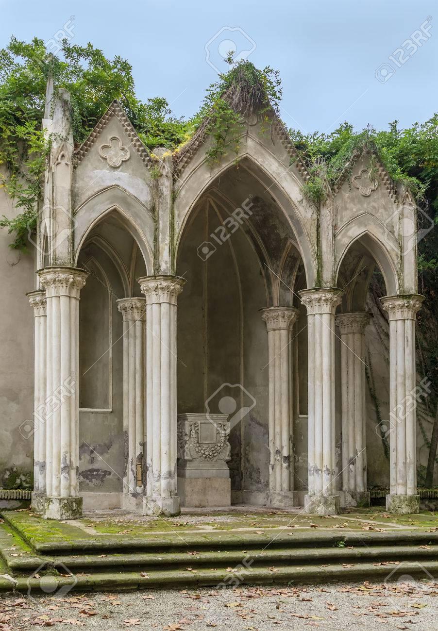 Gothic Temple In Villa Celimontana (previously Known As Villa ...