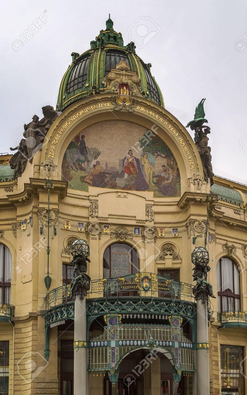 Municipal House is a civic building in Art Nouveau architecture..