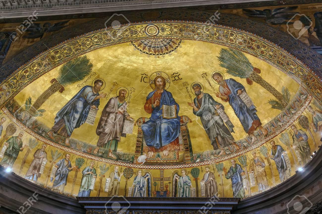 Risultati immagini per mosaici roma SAN PAOLO ROMA