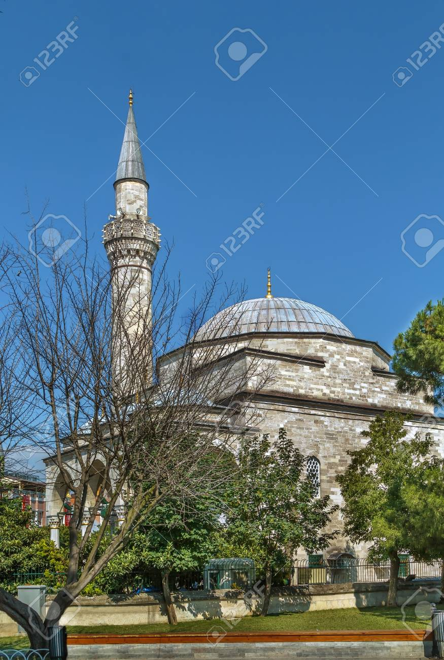 The Firuz Aga Mosque Is An Old Ottoman Mosque In The Fatih District