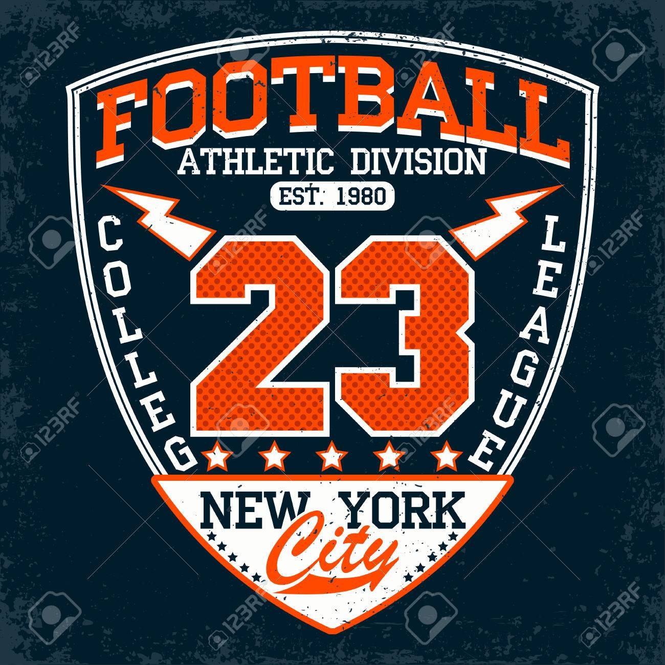 vintage t shirt graphic design grange print stamp football