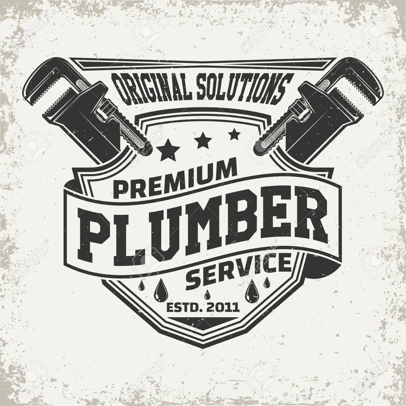 Vintage the plumber