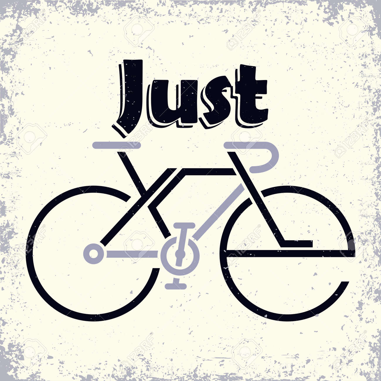 Lettering composition on the theme of Cycling - 156729121