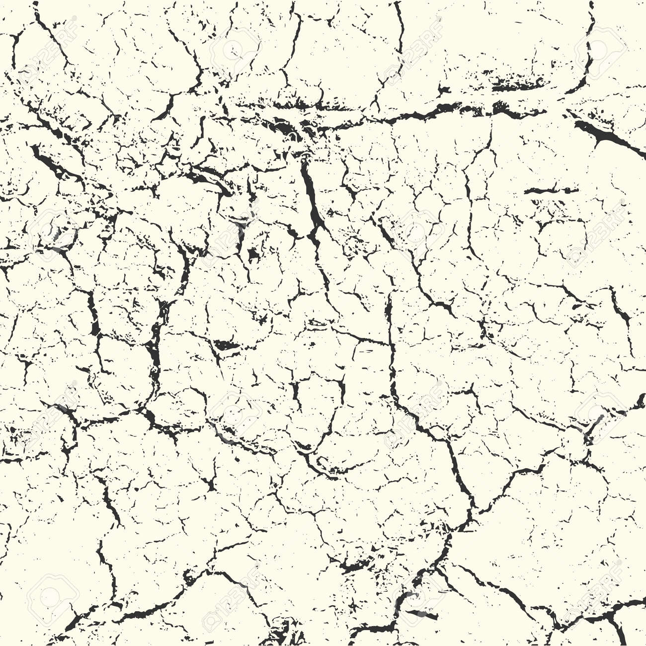 Overlay Grunge structure on white background vector - 163690842