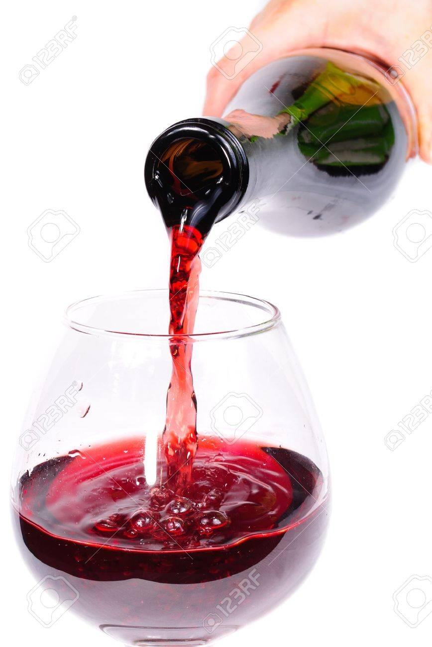 bottle of wine. Isolated on white background Stock Photo - 11397588