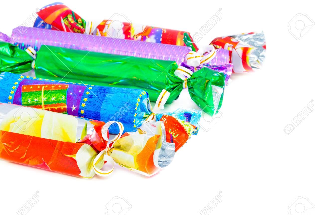Weihnachtsgeschenke Für Die Ganze Familie. Multi-farbigen Feldern ...