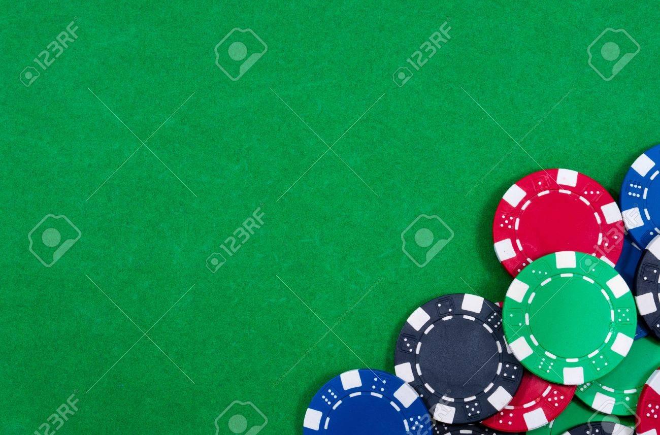 Casino chips. Photo of attributes gambling - 11889013