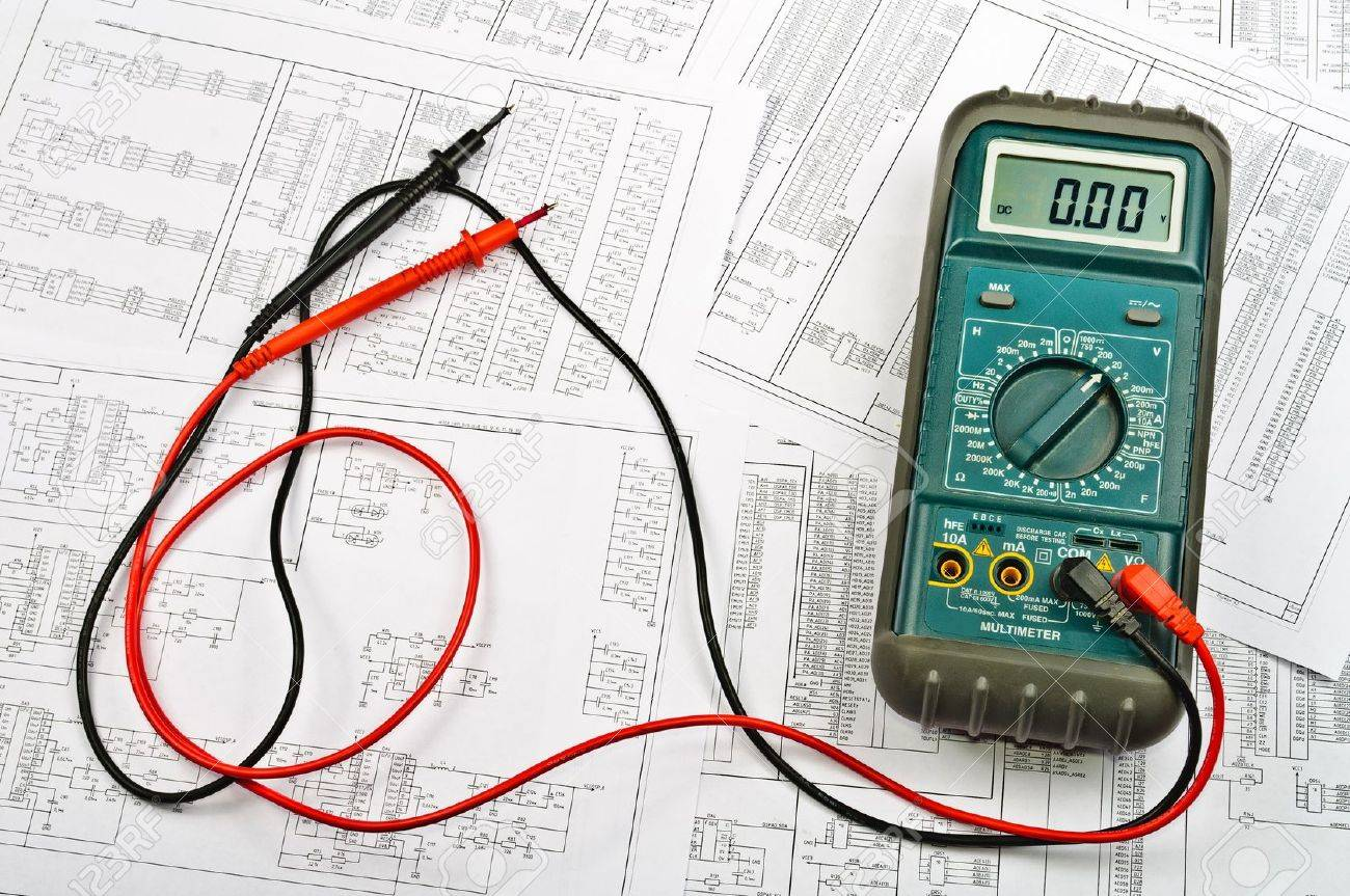 Several schemes of electric and electrical tester - 12225639