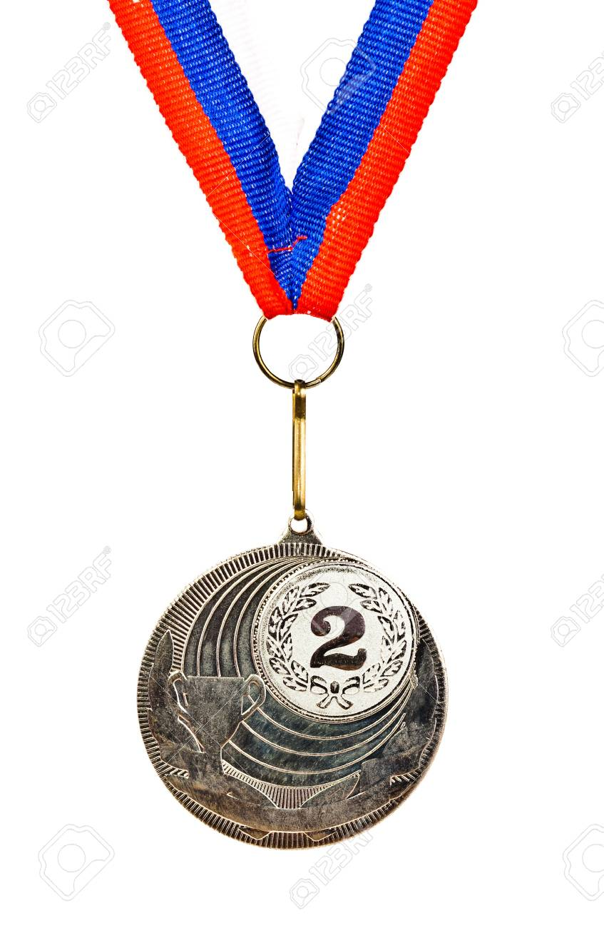 Sports Medal. Photos isolated on white background Stock Photo - 12682892