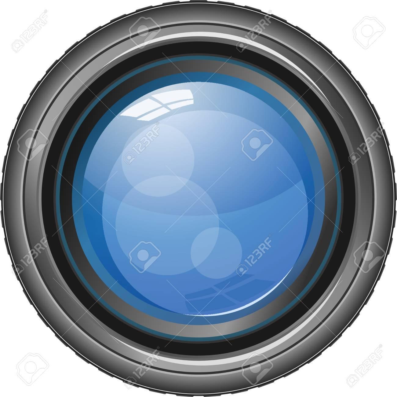 カメラのレンズのベクトル イラスト ロイヤリティフリークリップアート