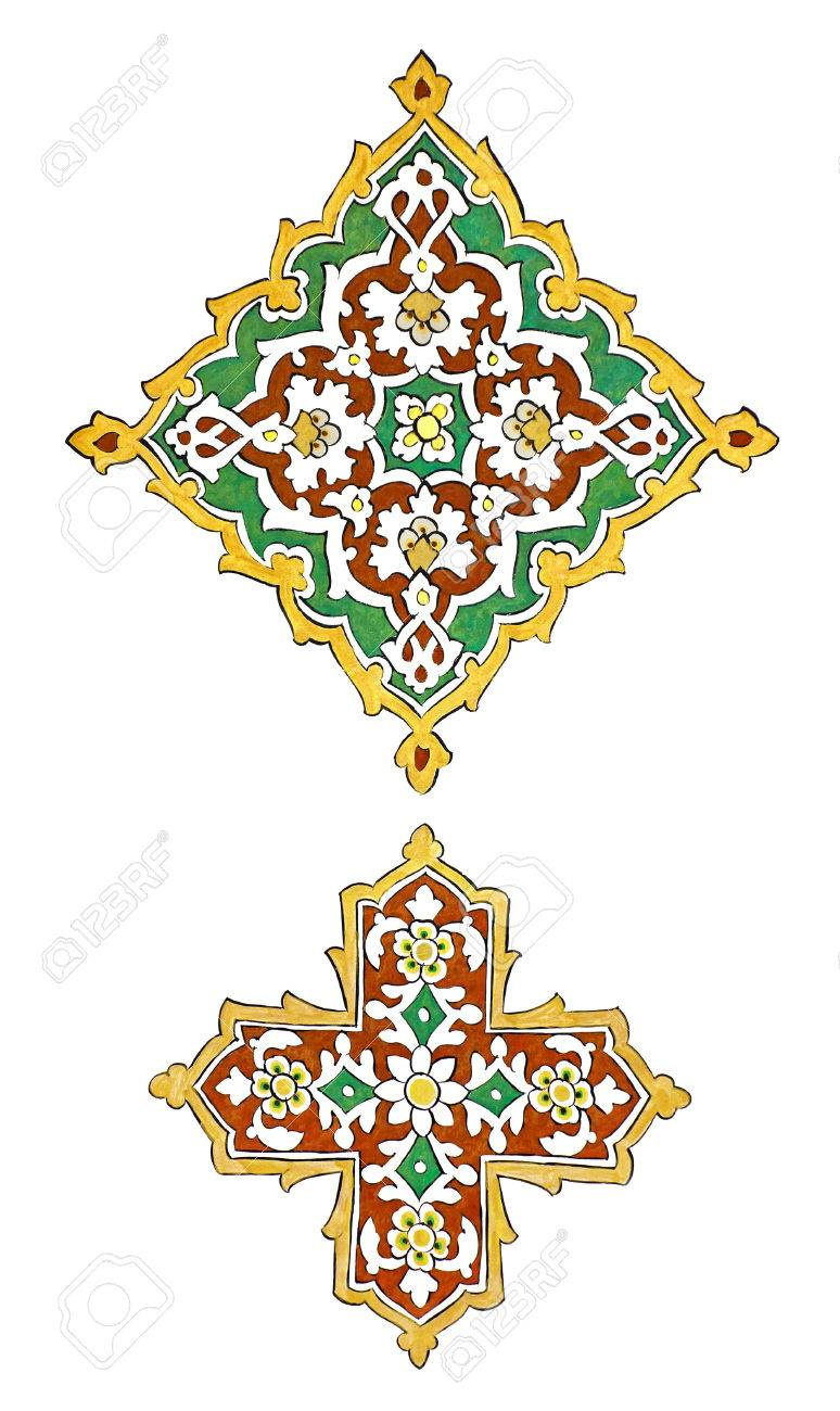 Very old persian islamic motifs painted on the wall stock photo very old persian islamic motifs painted on the wall stock photo 27927136 biocorpaavc Image collections
