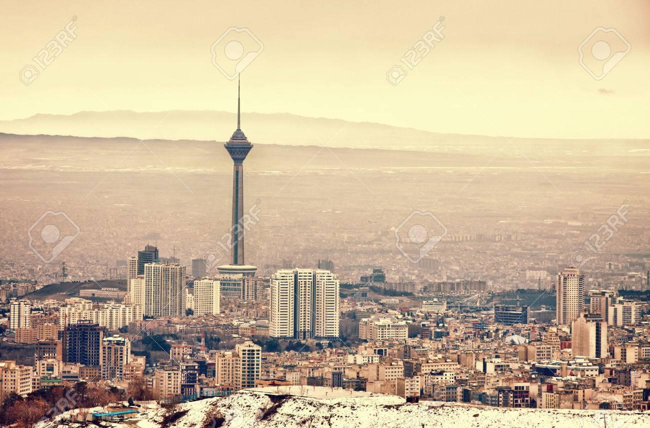 テヘラン スカイライン ボルジェ...