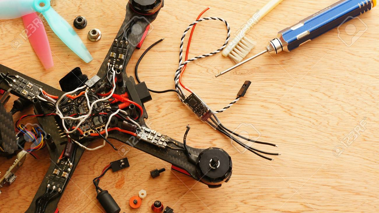 Racing Drone - electronic speed control (ESC) replacing after