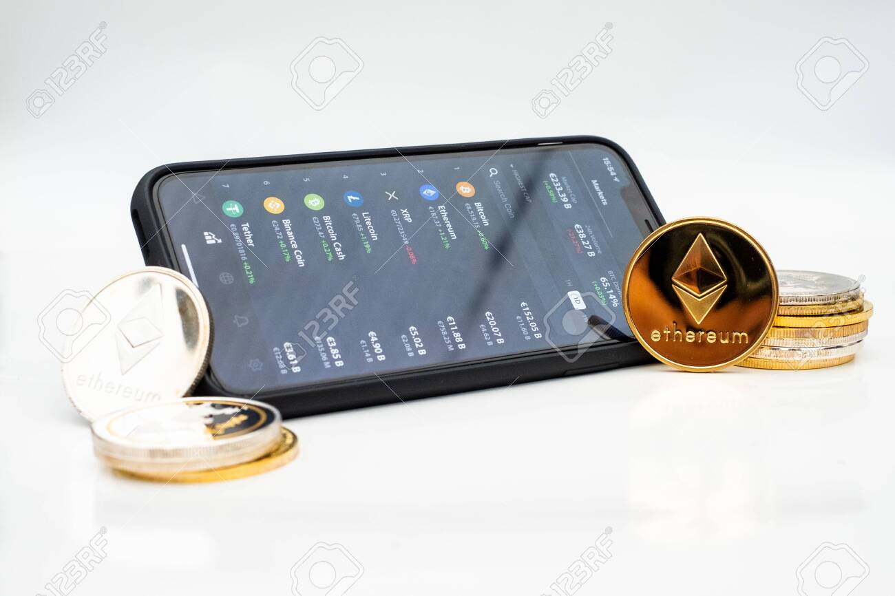are cryptocurrencies on the stock market