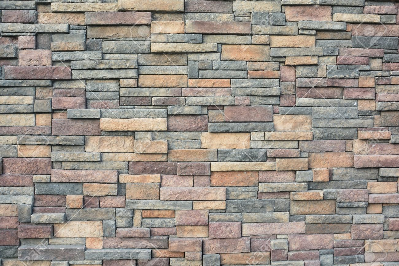 Rock Wall Design similar to interior feature walls that add drama and impact to a room exterior stone statement walls do the same for your yard or outdoor space Stock Photo Rock Wall Design And Pattern