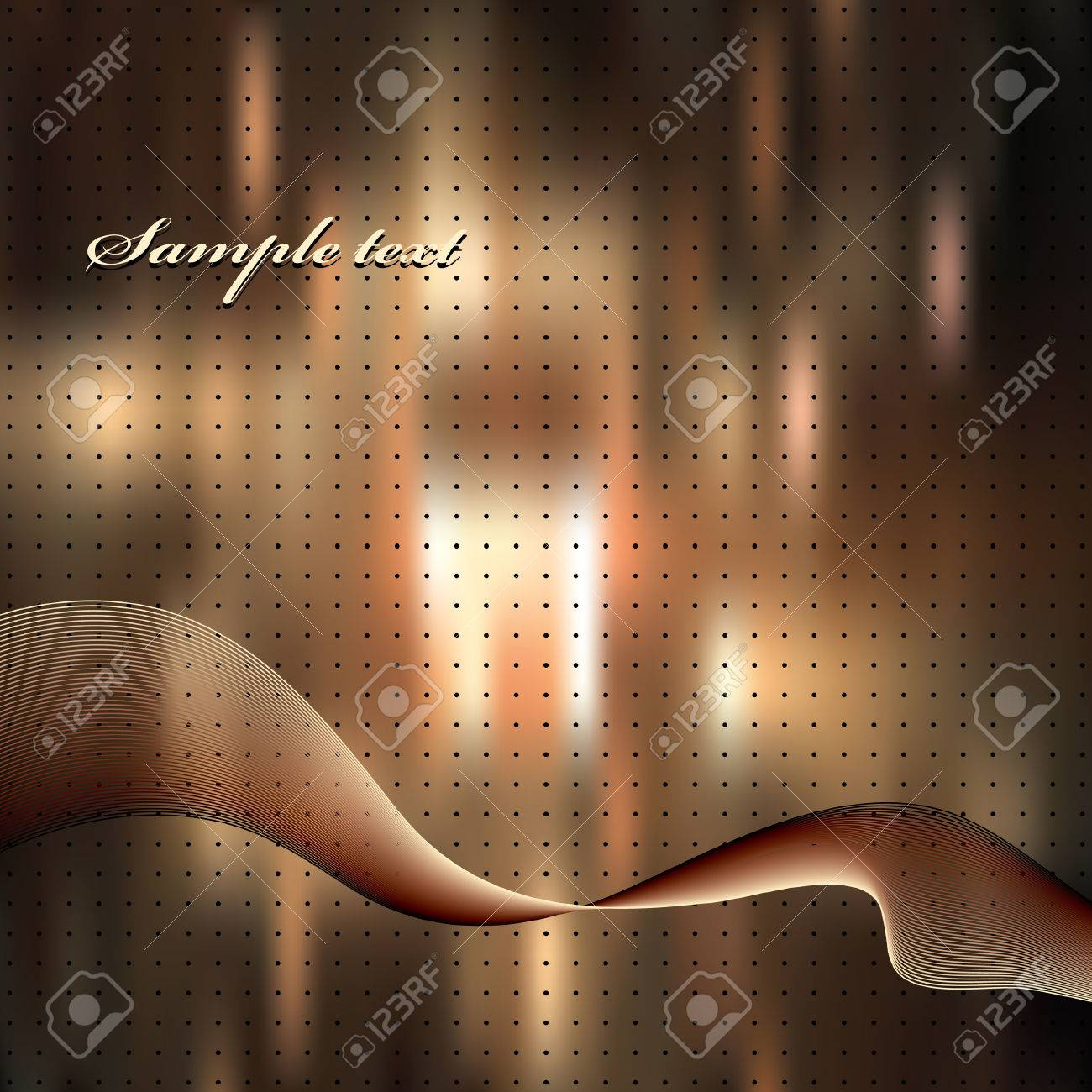 Abstract elegance background. Vector illustration. Gradient mesh include. Stock Vector - 5761531