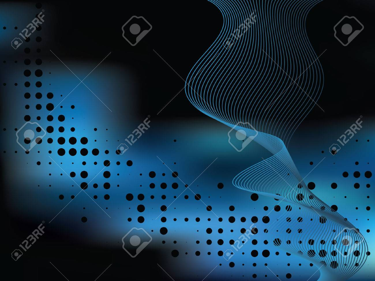 Abstract elegance background with dots. Vector illustration. Gradient mesh include. Stock Vector - 5820180