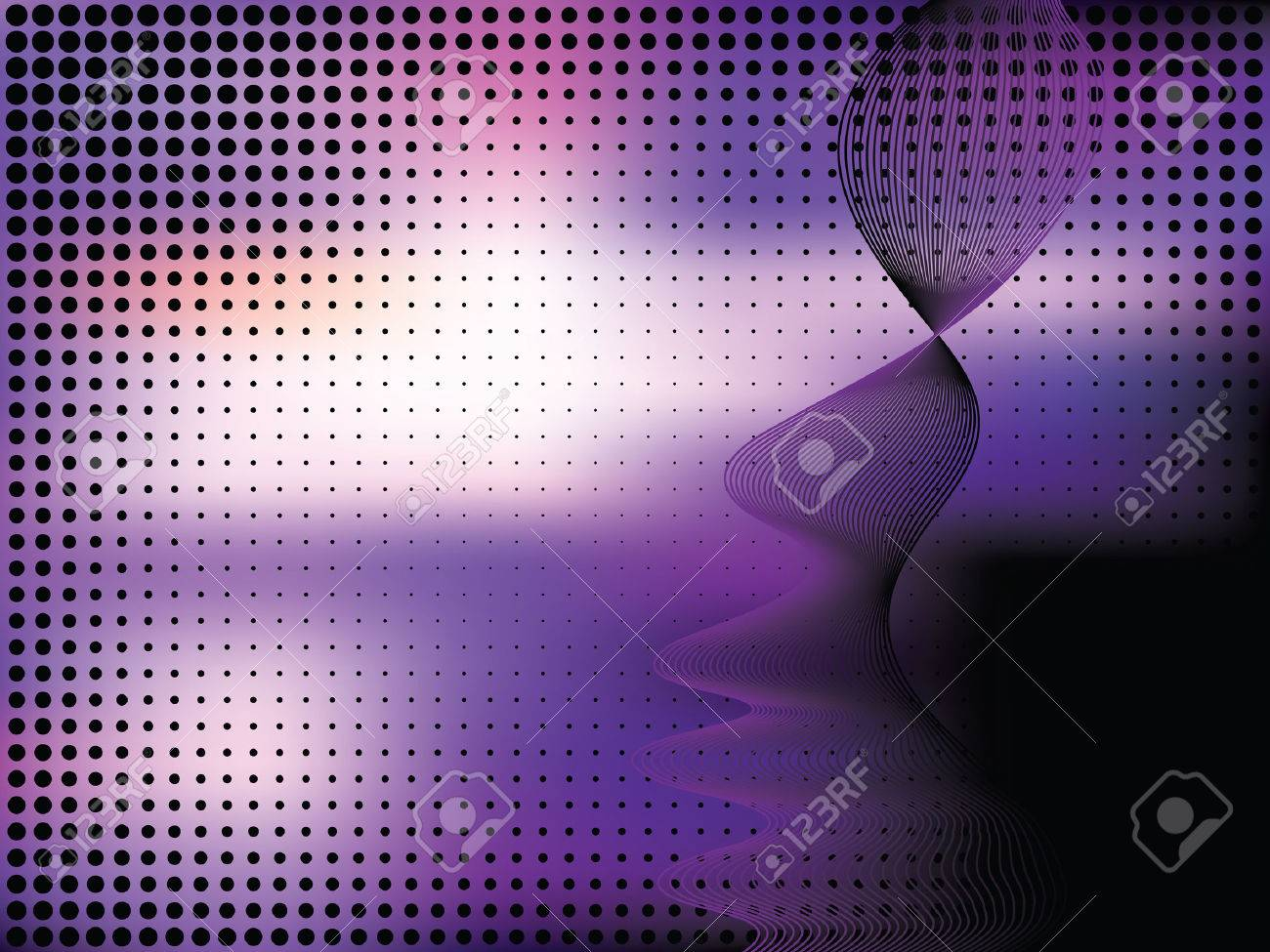 Abstract elegance background with dots. Vector illustration. Gradient mesh include. Stock Vector - 5820197