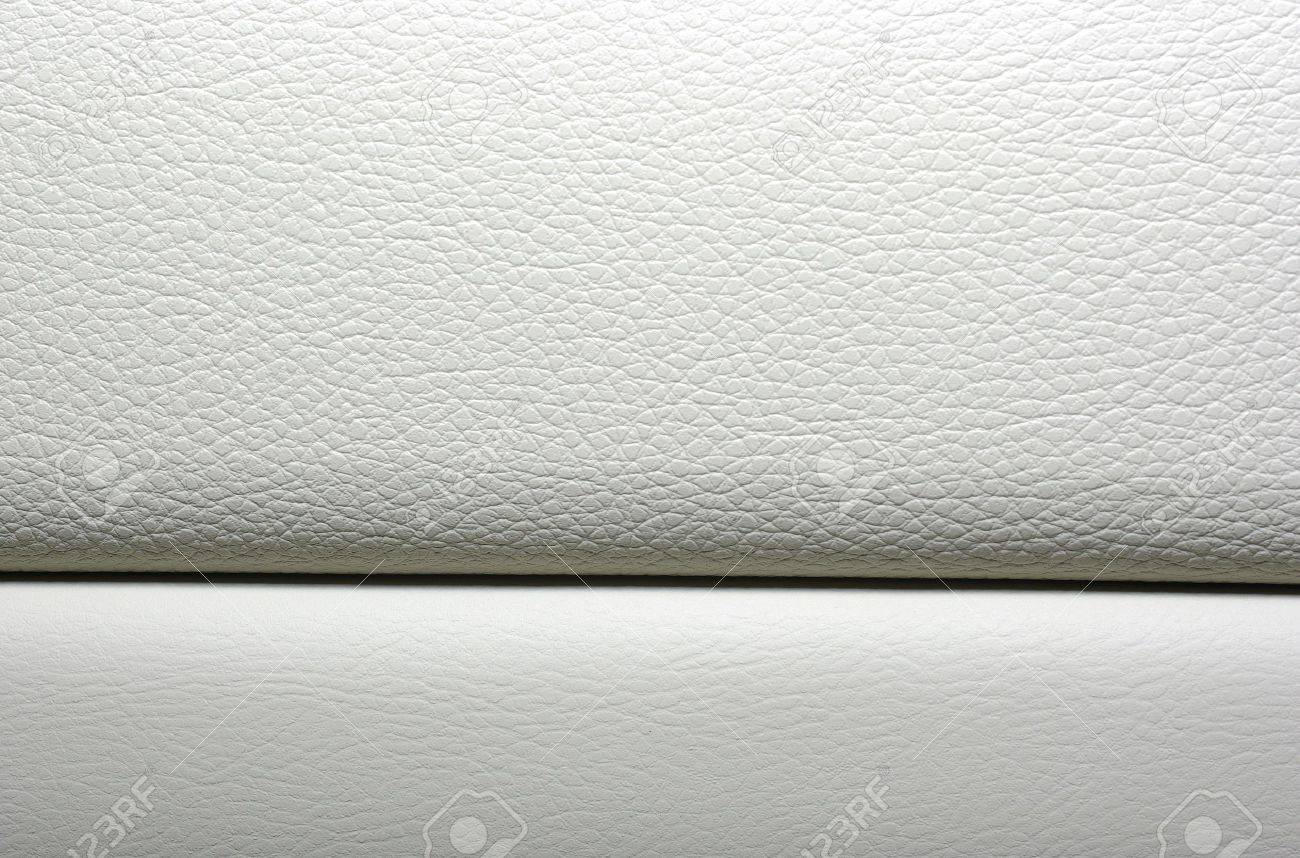 Car interior material - Stock Photo White Leather Background Modern Japanese Car Interior Materials