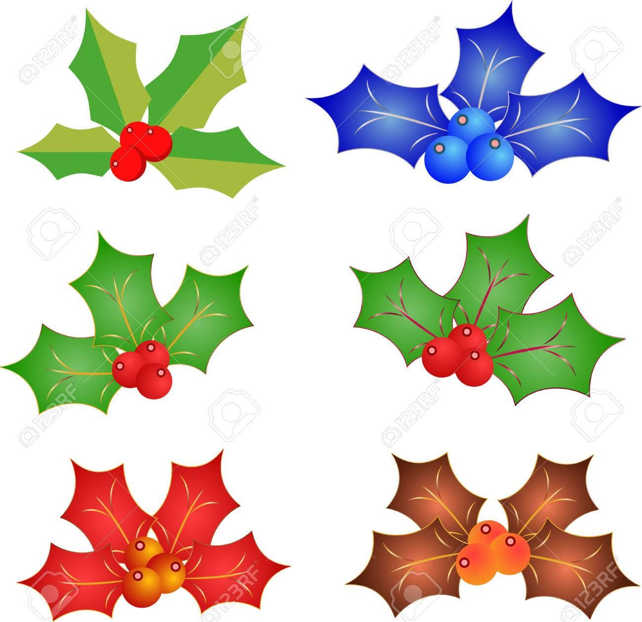 ベクトル分離ヤドリギ クリスマス飾りのイラストのイラスト素材 ベクタ Image