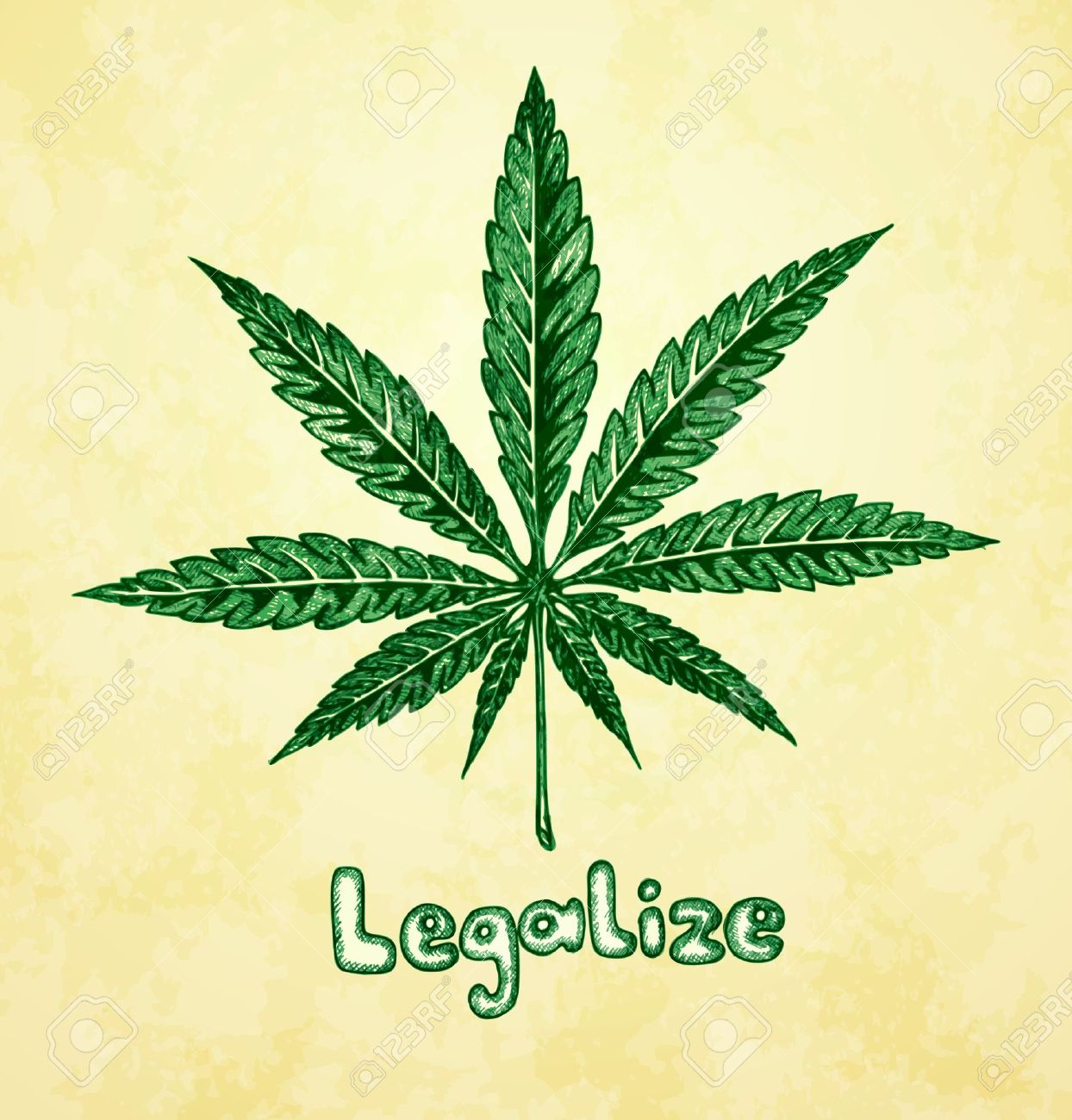 5,003 Marijuana Leaf Stock Illustrations, Cliparts And Royalty ...