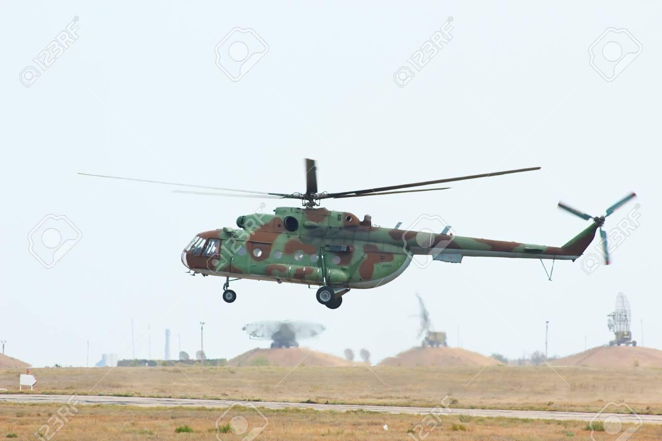 Elicottero 8 : Elicottero da trasporto militare russo mi è di atterraggio sulla