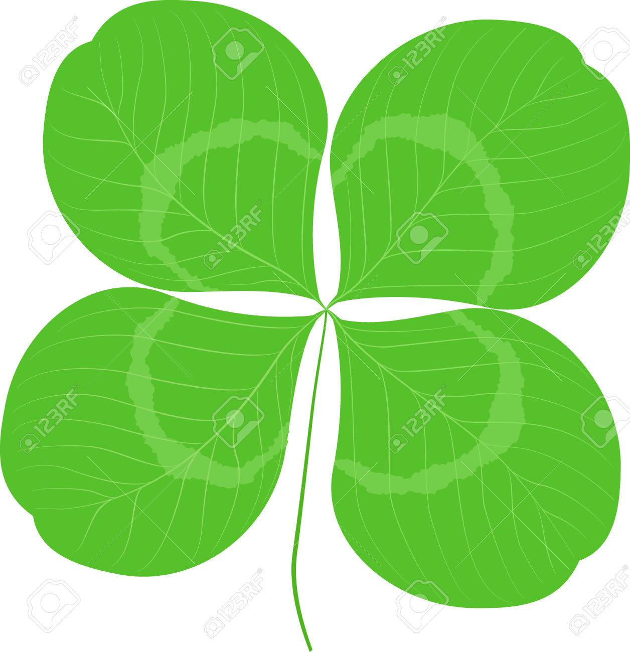quatrefoil leaf clover sign icon good luck sign saint patrick day symbol ecology - Clover Color