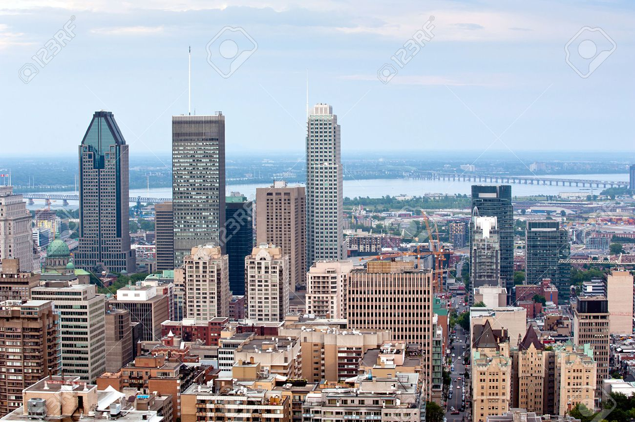 Montreal skyline - view from Mount Royal at daytime - 30651762