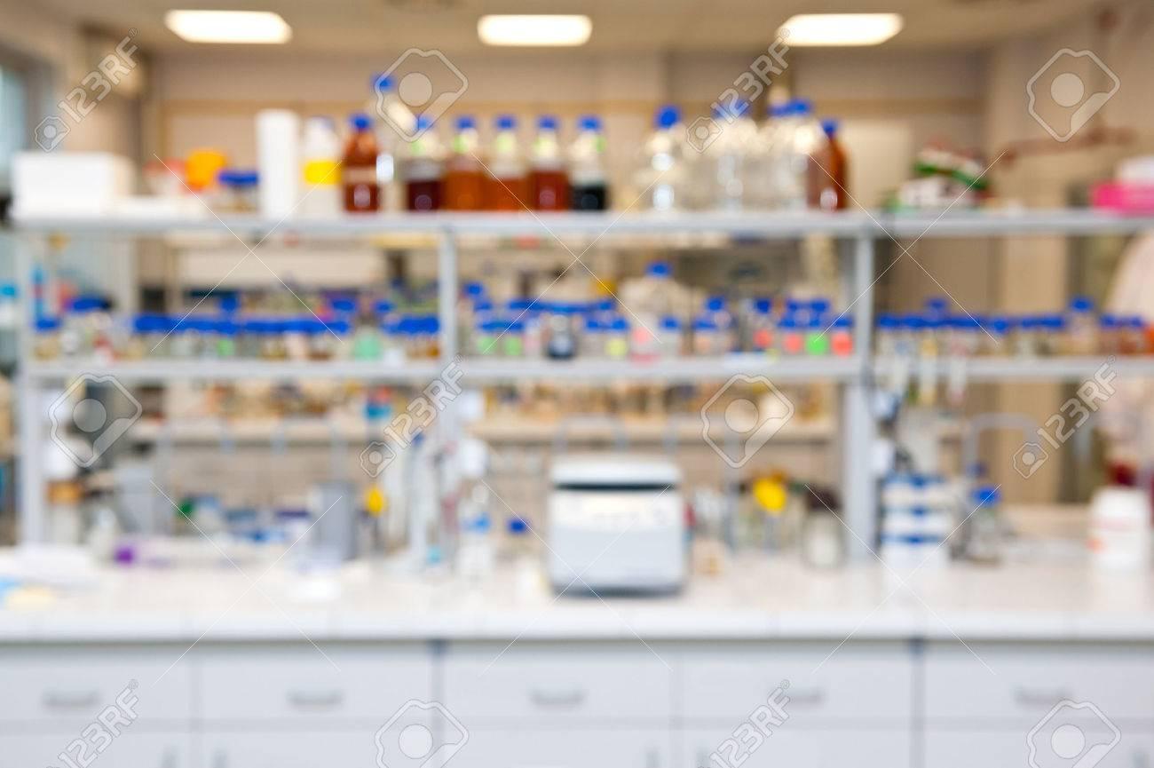 blurred laboratory - 34570073