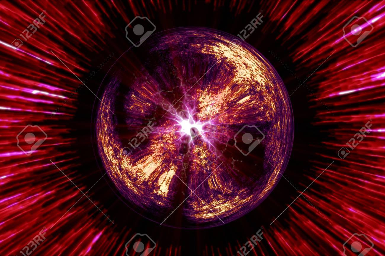Magical Sphere Stock Photo - 12937298