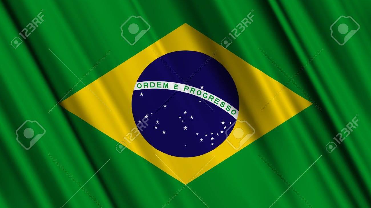 Handmade watercolor brazil flag brasil stock photos freeimages com - Colors Of Flag Brazil Brazil Flag Stock Photo