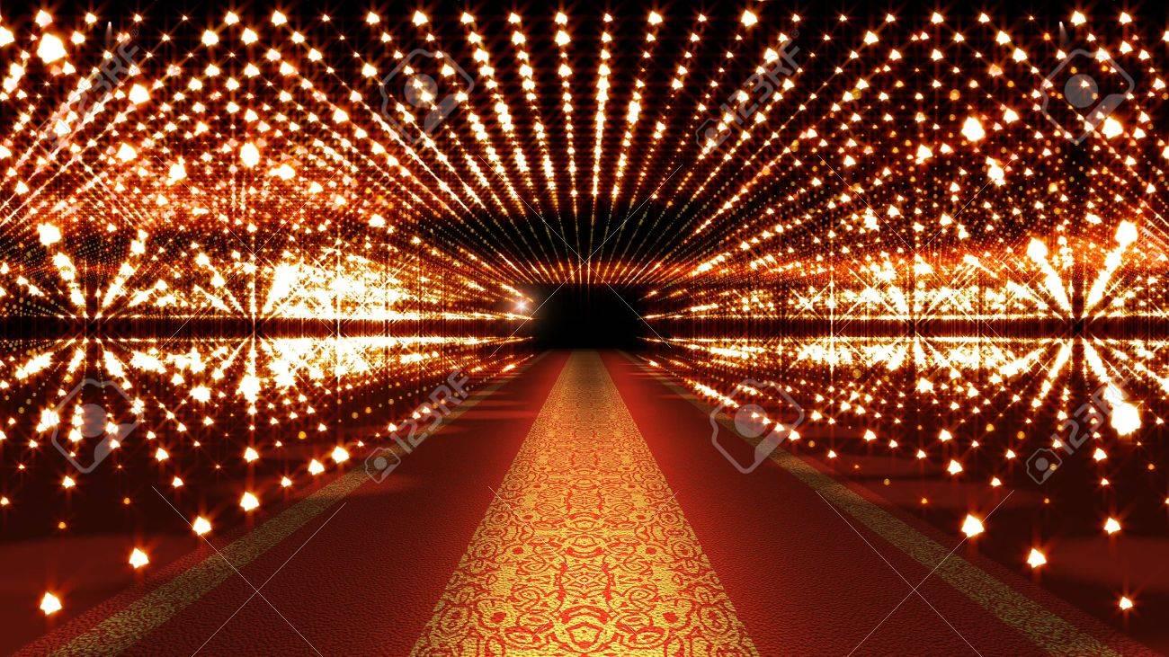 Red Carpet Festival Glamour Scene Illustration - 53544743