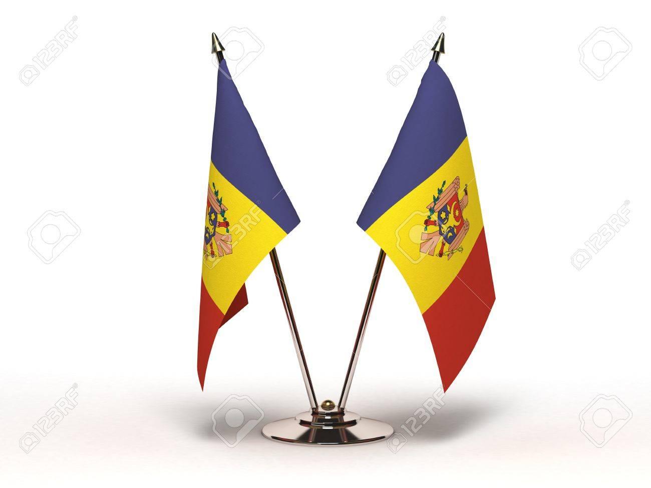 Miniature Flag of Moldova Stock Photo - 15498729